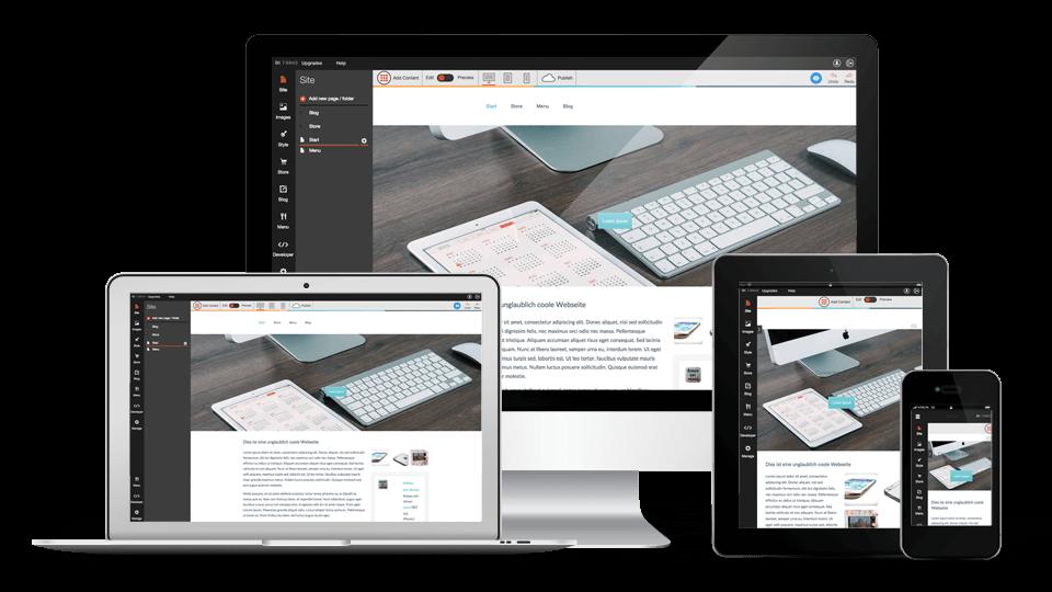 Wie Erstelle Ich Meine Eigene Website homepage erstellen homepage baukasten easyname