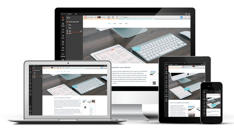 Websitebuilder - Build Your Homepage | Easyname